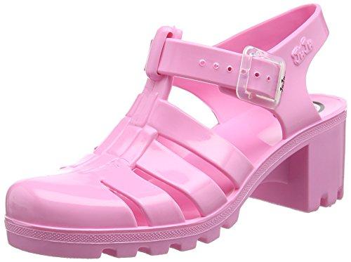 Juju Shoes BABE, Sandales Plateforme femme Rose - Pink (Pink Flamingo)