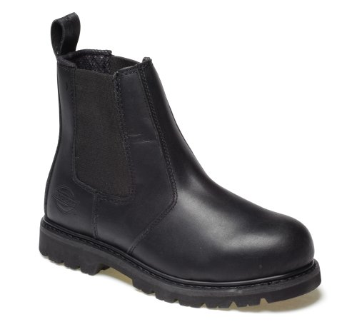 Dickies , Chaussures de sécurité pour homme Noir noir noir