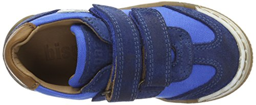 Bisgaard Unisex-Kinder Klettschuhe Low-Top Blau (149 Skydiver)