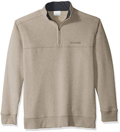 Columbia Herren Hart Mountain II Half Zip Pullover, Delta Heather, 6X -