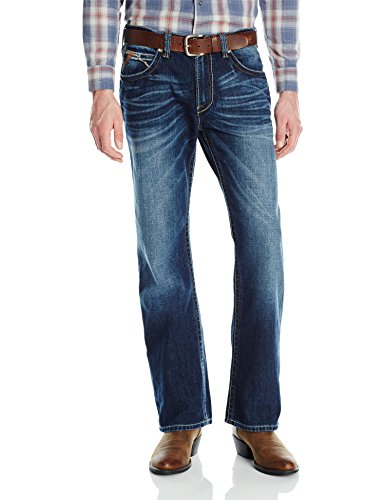 Ariat Men's M4 Low Rise Boot Cut Jean, Riverton, 38x32 -