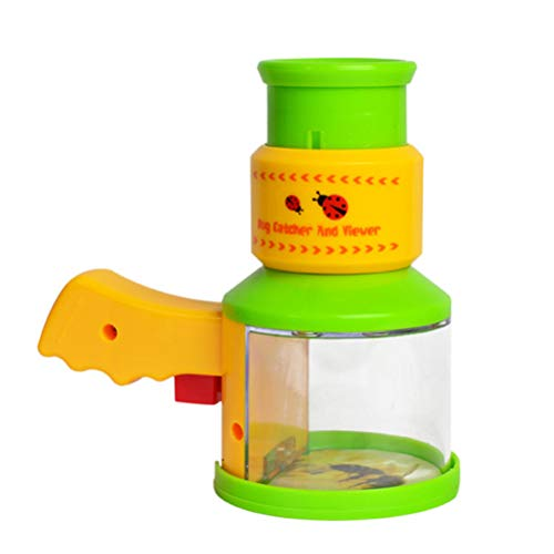 Hemobllo Kinderhinterhof-Erkundungswissenschaft-Wanzenfänger und Betrachtermikroskop-Insekten-Vergrößerungsglas (Catcher Kit Für Erwachsene)