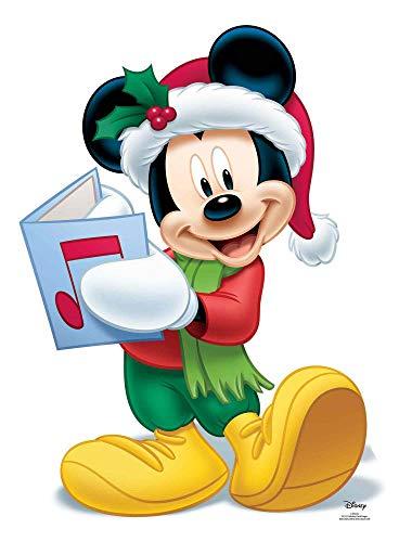 empireposter Weihnachten - Mickey Mouse - Singing - Pappaufsteller Standy - ca. 68x93 cm (Pappaufsteller Mouse Mickey)