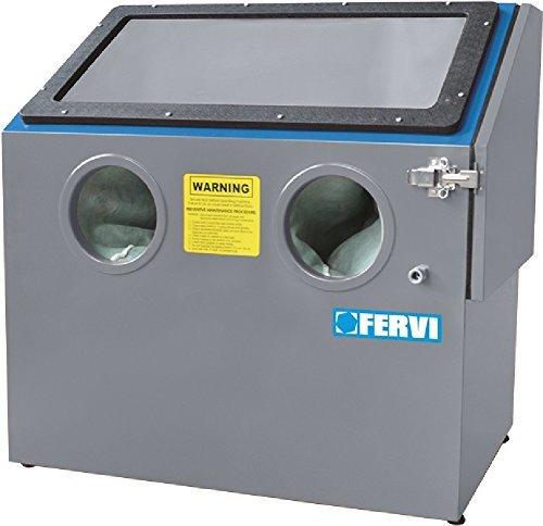 Fervi 0487 - Cabina chorreadora portátil
