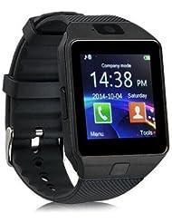 DXable Bluetooth reloj inteligente - Reloj de pulsera U8 Uwatch Fit para smartphones iOS Apple iPhone 4/4S/5/5 C/5S Android Samsung S2/S3/S4/Note 2/Note 3 HTC Sony Blackberry (Grey)