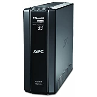 APC Power-Saving Back-UPS PRO - BR1500GI - Uninterruptible Power Supply 1500VA (AVR, 10 Outlets IEC-C13, USB, Shutdown Software)