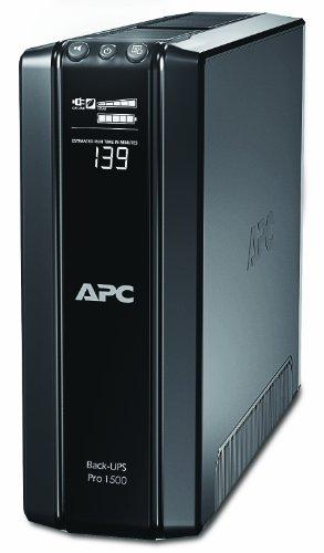 APC by Schneider Electric BR1500GI Gruppo di Continuità UPS, 1500 VA, AVR, 10 Uscite IEC-C13, USB, Shutdown Software, Risparmio Energetico