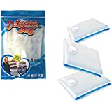 Nice Life Space Saver Vacuum Storage Bags, Pack of 3 Large Bags, Size 70 x 100cm