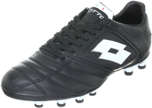 lotto-sport-stadio-potenza-fg-sports-shoes-football-mens-black-schwarz-black-white-size-55-39-eu