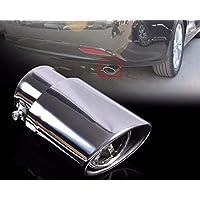 DDV- US - Tubo de escape cromado para Hyundai Sonata Nissan Sunny Mitsubishi Lancer EX