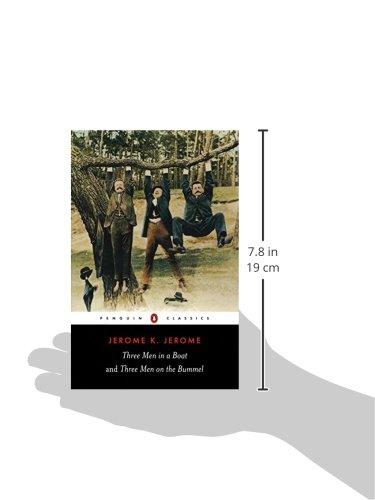 Three Men in a Boat and Three Men on the Bummel (Penguin Classics)