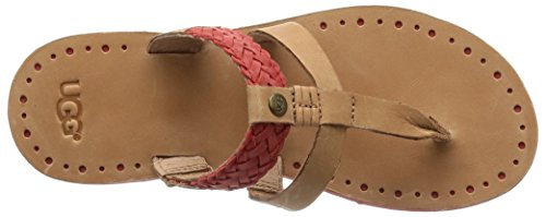 Ugg - Zehentrenner Audra - 1011202 - Rose Gold Tomato Soup Leather