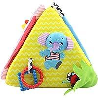 Bunt Tuchbuch Weichen Stoffbuch für Baby Kleinkind, Kleinkind Pädagogisches Spielzeug Stoffspielzeug preisvergleich bei kleinkindspielzeugpreise.eu