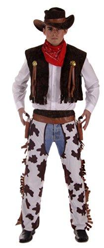 hsene/Herren - Woody aus Toy Story - Einheitsgröße/Größe S-L (Erwachsenen Cowboy Kostüme Weste)