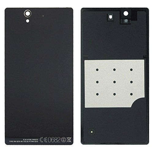 Hedywei Tapa de USB//SIM//SD Para Sony Xperia Z L36H Cubierta antipolvo Negro