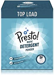 Amazon Brand - Presto! Matic Top Load Detergent Powder - 3 kg