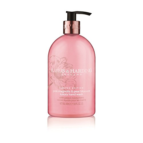Baylis and Harding Limited Edition Pink Magnolia and Pear Blossom Luxury Handwash - Blossom Chip