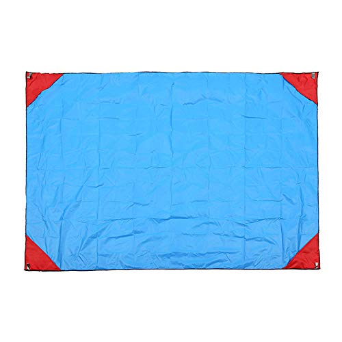 CAIYIXIONG Waterproof Village Collapsible Picnic Blanket Outdoor Plaid Cloth Beach Waterproof Moisture-Proof Park Beach Blanket Camping Blanket Game blanke Park Plaid