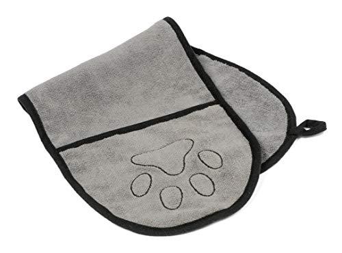Care4mypet Mikrofaser Hunde Handtuch