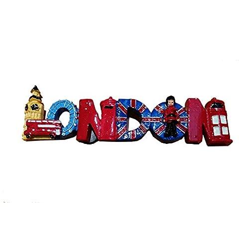 # 1BEST Verkauf London Wort Big Ben Union Jack Phone Box/Bus GB Großbritannien/Telefon/Telefon booth/Royal Guard/Post Box Collectible Polyresin UK MAGNET Souvenir. Souvenir/Speicher/MEMORIA. Charming, Einzigartige Britische UK Collectible Magnet. Die meisten unvergessliche London Souvenir. Aimant/Magnet/Magnete/ImÁn. S01
