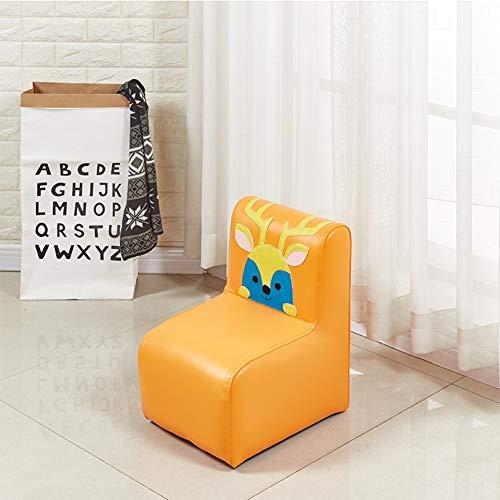 WJH Kinder Sofa,Kinderstuhl,Back Mini Kleine Möbel Cartoon Hocker Cute Low Esszimmerstuhl Für Schlafzimmer Kindergarten Baby-I 33x40x45cm(13x16x18inch)