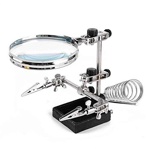 Zoom IMG-1 lente da tavolo struttura metallica