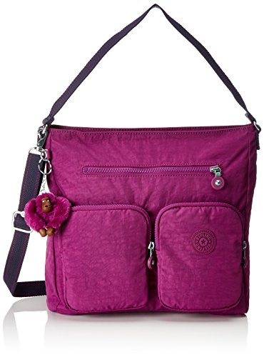 Kipling - Tasmo, Shoppers y bolsos de hombro Mujer, Pink (Urban C), 31x29x14 cm (B x H T)