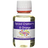 Flavour Factory Intense Food Flavouring, Spiced Cranberry...