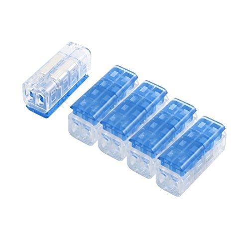 5 pezzi doppia vie i-morsetto Quick Connect connettore per 0,75 mm - 1,0 mm 2 cavo