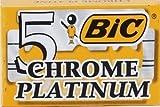 5 lamette BIC Chrome Platinum (1 pacchetto)