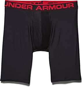 Under Armour Original Boxerjock 9 Inch Extented Boxer Brief - Black, Small
