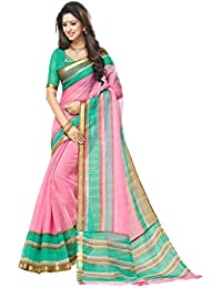 Design Willa Silk Cotton Saree (Samu3242_Multi-Coloured)
