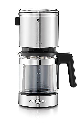 WMF LONO Glas - coffee makers (freestanding, Drip coffee maker, Black, Stainless steel, Stainless steel, Buttons, Coffee)
