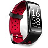 RCE - Q8 Smart Band With Heart Rate Monitor, Multiple Sports Mode Fitness Bracelet For Android IOS