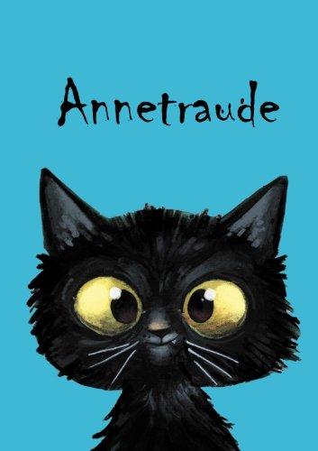 Annetraude: Annetraude - Katzen - Malbuch / Notizbuch / Tagebuch: A5 - blanko