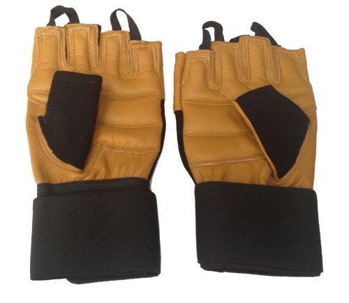 Mammoth XT Leder Gewichtheber Griff Handschuhe