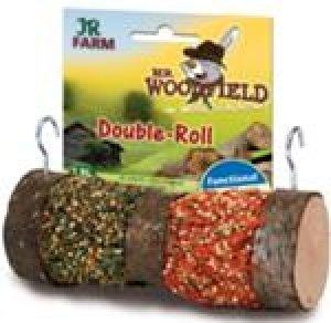 Mr. Woodfield Double-Roll  Ergänzungsfuttermittel für Zwergkaninchen, Meerschweinchen, Ratten, Hamster, Mäuse, Chinchillas und Degus.