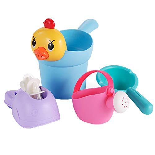 Spaß Bildung Badewanne Kinder Baby Dusche Spielzeug Geschenk einstellen Familie Bad Sommer Kind Badezimmer Undichtes Wasser Baden Anzug Strand
