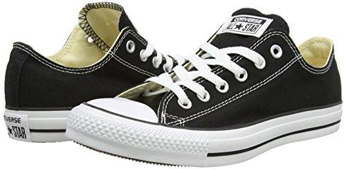 Converse Converse Sneakers Chuck Taylor All Star M9166, Unisex-Erwachsene Sneakers, Schwarz (Black), 45 EU (11 Erwachsene UK) -