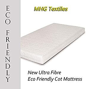 Junior Toddler New Ultra Fibre Eco-Friendly Baby/Toddler Cot Bed Mattress - All Sizes