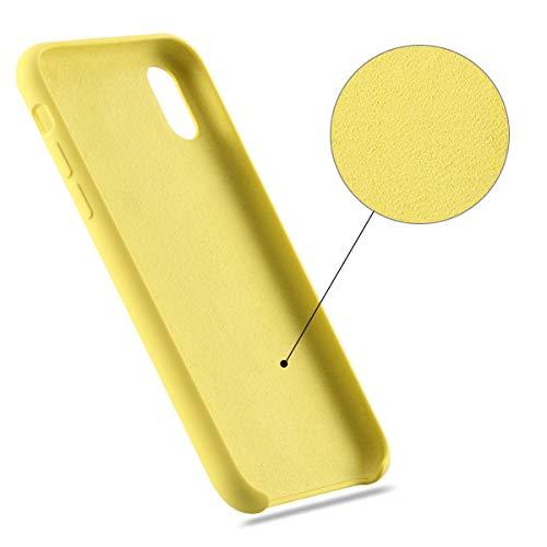 Custodia iPhone X Custodia Antiurto Gomma Gel Silicio Liquido con