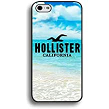 Hollister móvil, Apple iPhone 6/iphone 6S Teléfono Móvil Case, Ultra Slim Vintage Printed Colourful patrón Brands Logo Hollister móvil