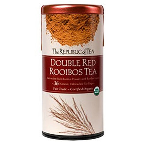 The Republic of Tea, Double Red Rooibos, 36-Count