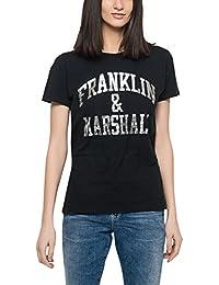 Franklin & Marshall Women's Women's White T-Shirt 100% Cotton