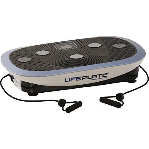 Vibrationsplatte Lifeplate 4.0 | 3D und seitenalternierende Schwingungen | platzsparend | Laufsimulation, Fettabbau, Hautstraffung | Fernbedienung