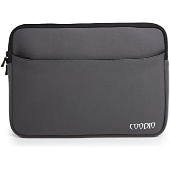 Coodio® Universal 13.3 inch Laptop Sleeve Bag Case Pouch for Apple Macbook Air 13, Macbook Pro Retina 13, Chromebook 13 (Fit all 13.3 inch ultrabook laptop) - Colour Grey