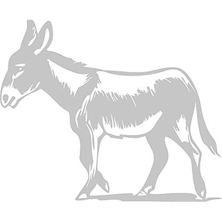Aufkleber Applikation – Esel – AP0682 – verschiedene Farben zur Wahl