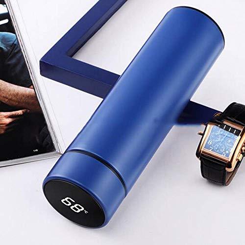 ASDF J der intelligenten temperatur - Cup Led - Touch - Display, temperatur - Liebhaber - Cup - Kreative Geschenke Thread-blue Tee