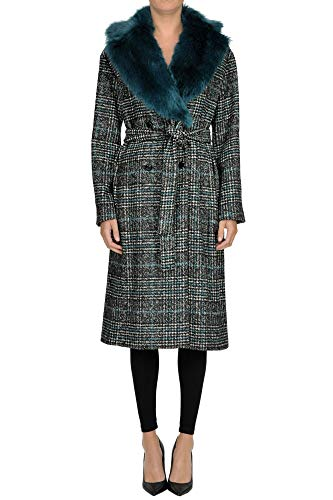 NENETTE Eco-fur Collar Coat Woman Multicoloured 44 IT -