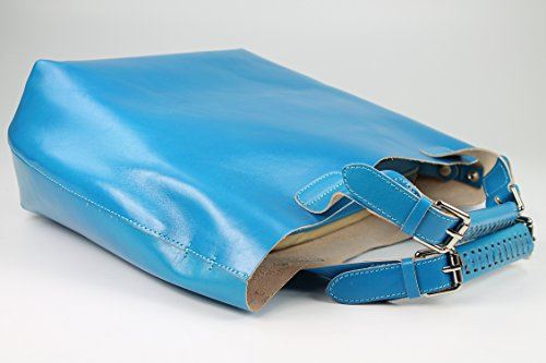 Belli , shoppers femme Turquoise/bleu